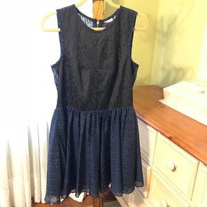 rachel roy fit and flare mini dress sz 10